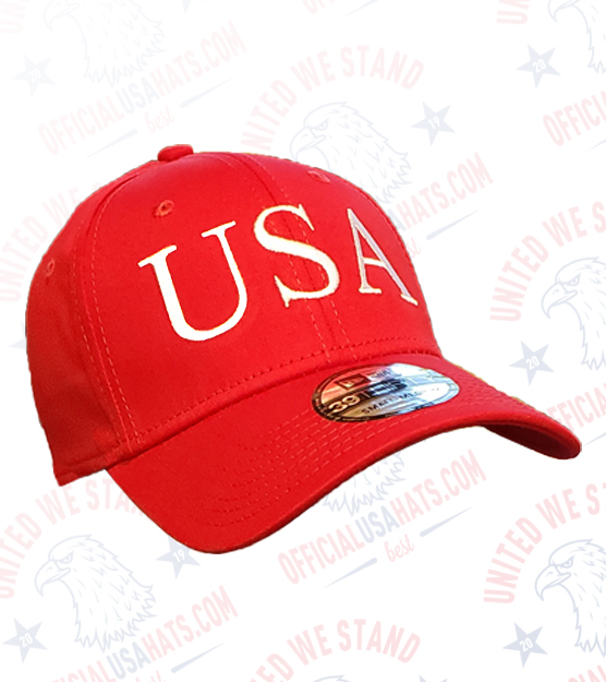 Red USA Hat - Front