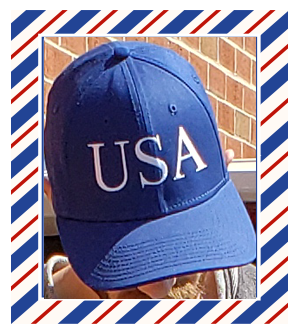 Official Blue USA Hat