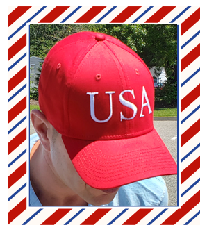 Official Red USA Hat