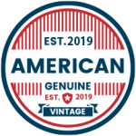 Genuine vintage American product