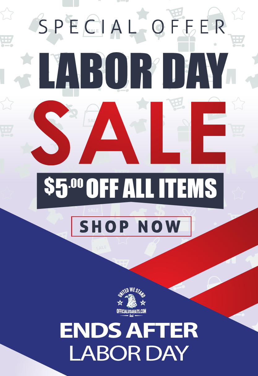 Happy Labor Day $5 OFF Coupon